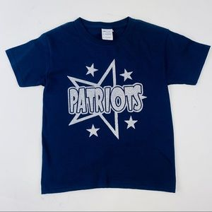 "Gildan Heavy Cotton Small Youth ""Patriots"" T Shirt"